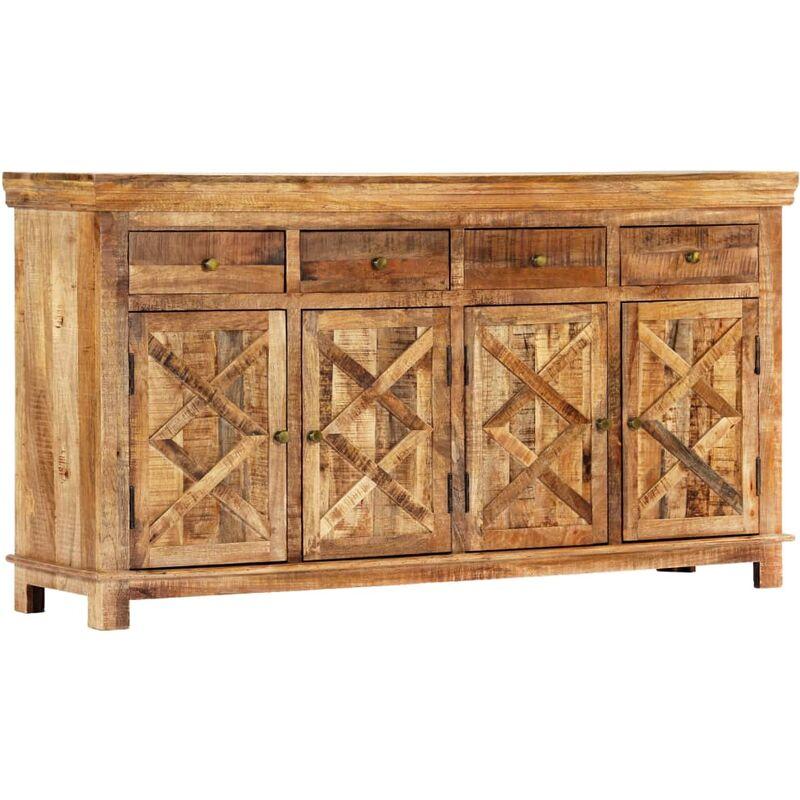 Vidaxl - Sideboard mit 4 Schubladen 160 x 40 x 85 cm Massivholz Mango
