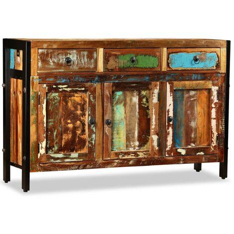Sideboard Recyceltes Massivholz 120 x 35 x 76 cm