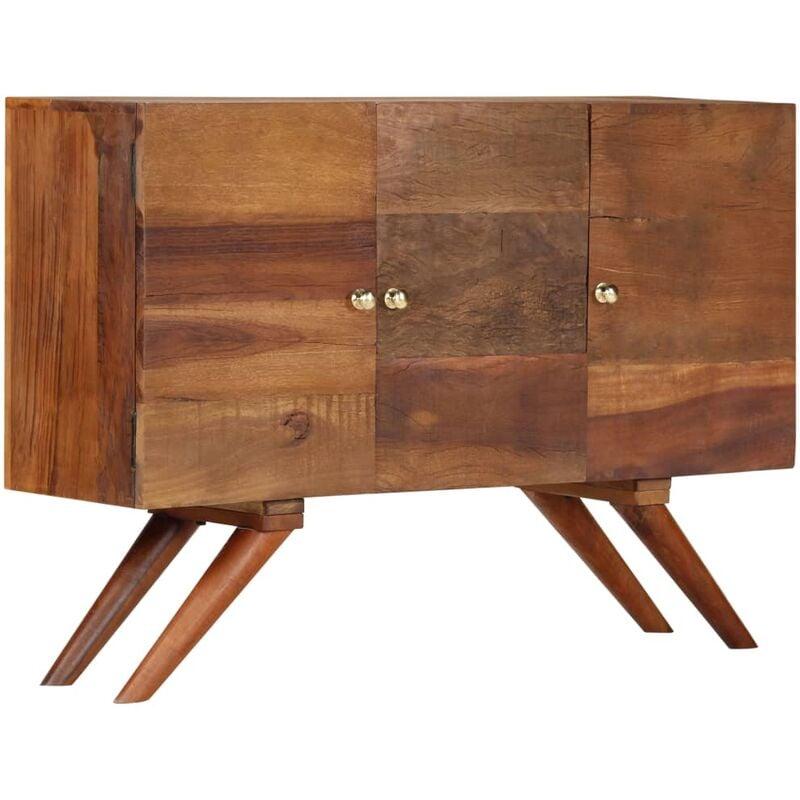 Vidaxl - Sideboard Altholz Massiv Braun 110x30x75 cm
