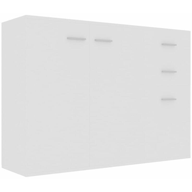Sideboard Weiß 105x30x75cm Spanplatte - VIDAXL