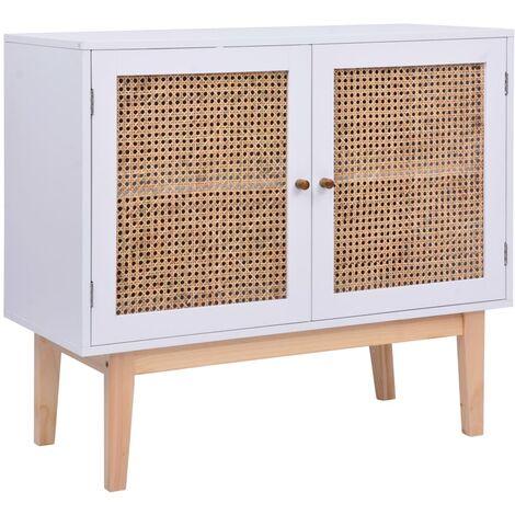 Sideboard Weiß 88,5×40×80 cm MDF
