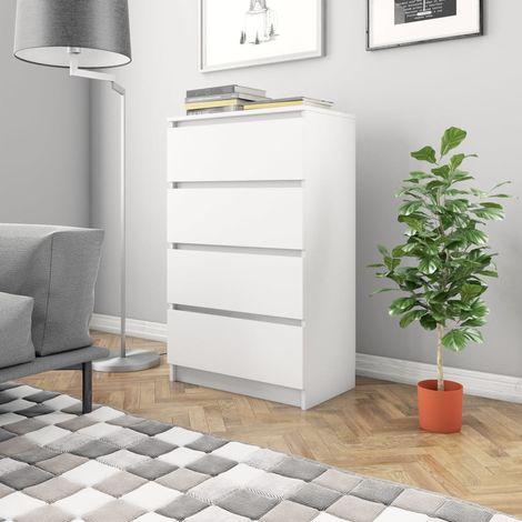 Sideboard White 70x40x97 cm Chipboard