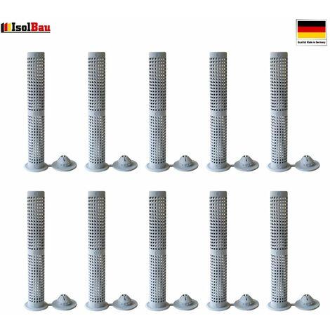 Siebhülsen 10 Siebhülse 12x80 für Bolzen, Ankerstangen ØM6 - M8 Verbundmörtel