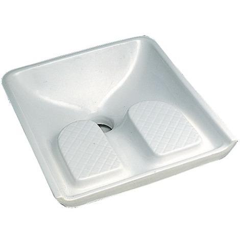 Siège à la turque Publica 60.5x60.5 blanc