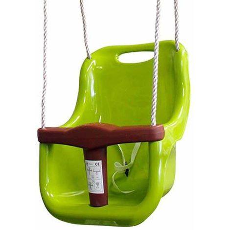 Siège bébé Vert clair - Accessoire balançoire