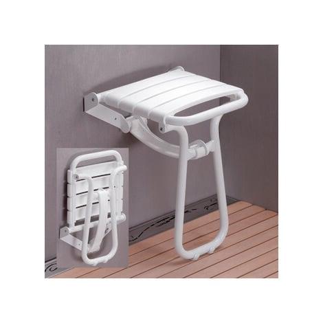 """main image of """"Siège de douche escamotable avec béquille automatique"""""""