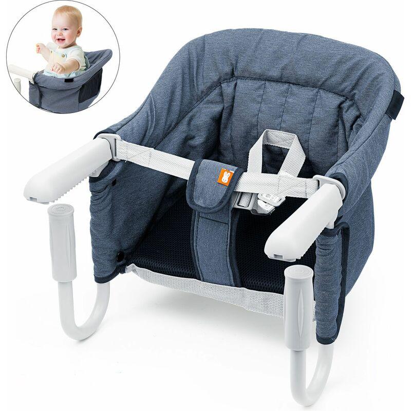 Siege De Table Bebe Chaise Haute Pliant Accessoire Pour Enfants