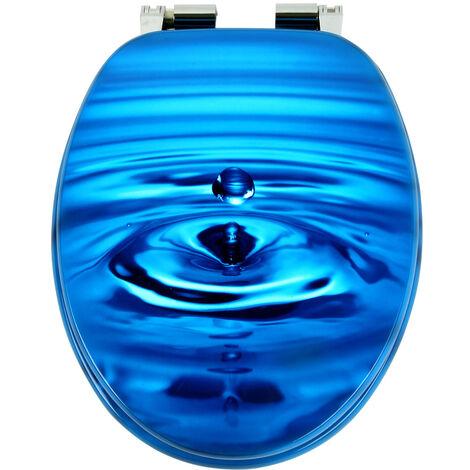 Siège de toilette Abattant WC Cuvette - Fermeture amortisseur - Modèle au choix