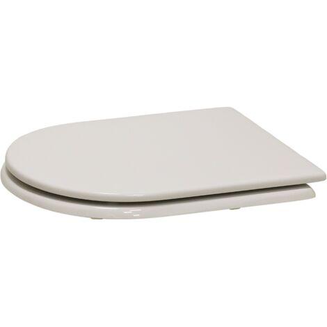 Siège de toilettes pour Cuvette Clodia Dolomite Niclam N54 | blanc
