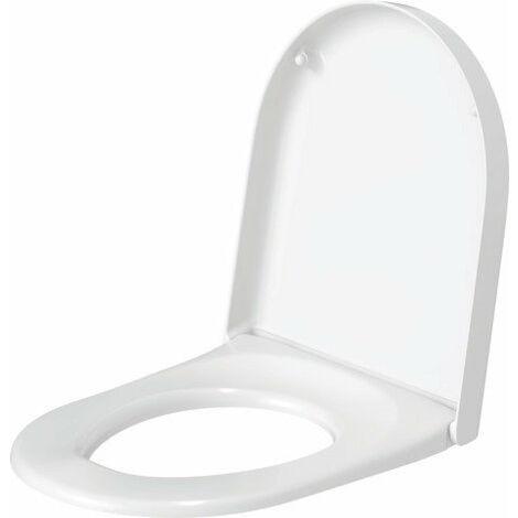 Siège de WC Duravit Darling New et Starck 2, sans soft close, 0069810000, blanc - 0069810000