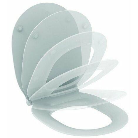 Siège de WC Ideal Standard Connect Air, Softclose Sandwich E036601 - E036601