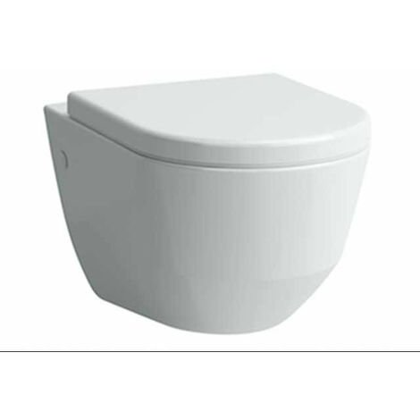 Siège de WC Laufen PRO, avec couvercle, amovible, mécanisme d'abaissement automatique, Coloris: Blanc - H8969513000001