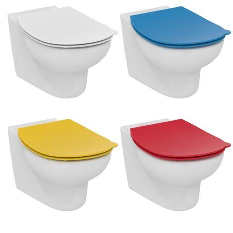 Siège de WC pour enfants Ideal Standard Contour 21 Écoles S4536, Coloris: rouge - S4536GQ