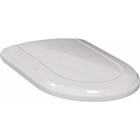 Siège de WC Villeroy und Boch Hommage 8809S6, blanc, charnières en laiton précieux - 8809S6R1