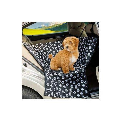 Siège pour animaux de compagnie étanche couvre le hamac pour la banquette arrière avec des réglages universels pour toutes les voitures 130*145*40cm