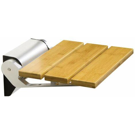 Siège pour douche Damas Bamboo 13920 | Alluminio