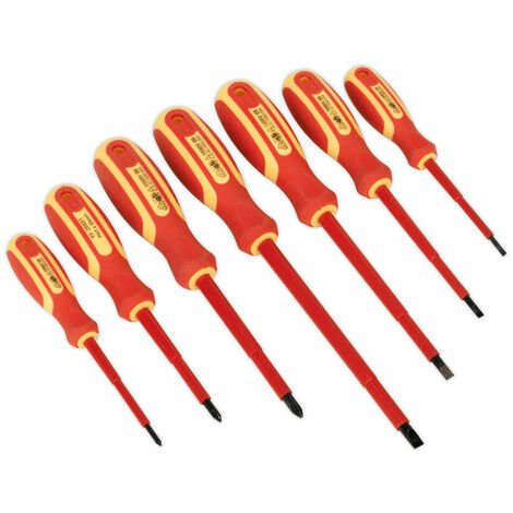 """main image of """"Siegen S0756 Screwdriver Set 6pc Electrician's Vde/tuv/gs Approved"""""""
