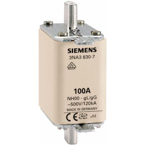 Siemens 3NA3824 NH Fuse Link 500 V Size 000 80 A
