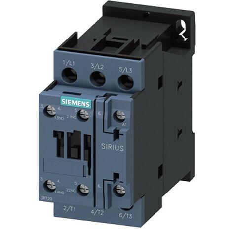 Siemens contactor 3 polos 16A S0 1NA+1NC 230VCA 3RT20251AP00