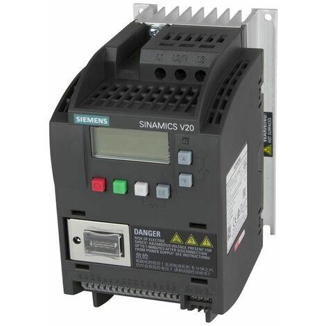 Siemens convertidor de frecuencia SINAMICS V20 1,50 KW 6SL32105BE215CV0