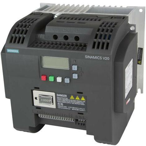 Siemens convertidor de frecuencia SINAMICS V20 5.50 KW 6SL32105BE255CV0