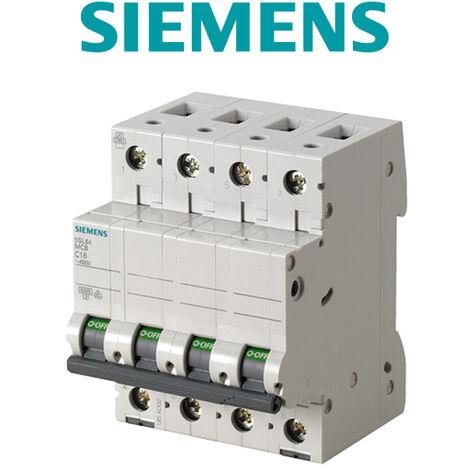SIEMENS - Disjoncteur tetrapolaire 32A Courbe C