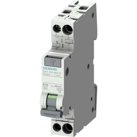 Siemens Indus.Sector FI/LS-Schalter 5SV1316-6KK16