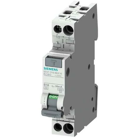 Siemens Indus.Sector FI/LS-Schalter 5SV1316-7KK16
