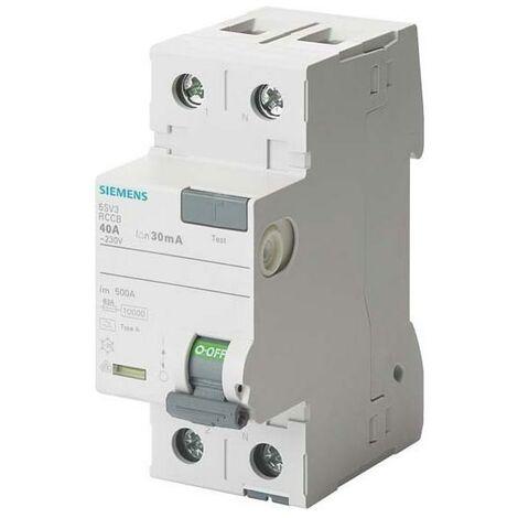 Siemens Indus.Sector FI-Schutzschalter 5SV3312-6