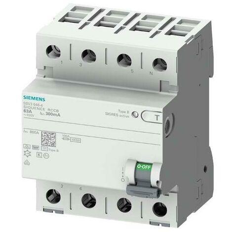 Siemens Indus.Sector FI-Schutzschalter 5SV3344-4