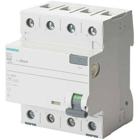 Siemens Indus.Sector FI-Schutzschalter 5SV3344-6