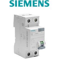SIEMENS - Interrupteur différentiel 30 mA 63 A Type AC