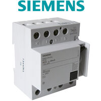 Siemens - Interrupteur différentiel tétrapolaire 30mA 63A type AC