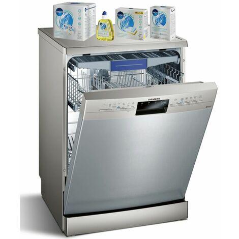 SIEMENS lave-vaisselle posable inox 46dB 13 couverts 60cm Variospeed - Inox