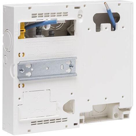 SIEMENS - Platine pour compteur électronique CE et LINKY + disjoncteur EDF