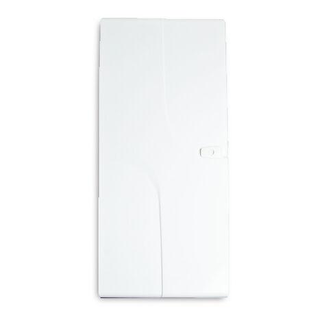 siemens porte blanche pour tableau lectrique 4 rang es. Black Bedroom Furniture Sets. Home Design Ideas