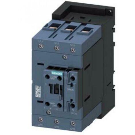SIEMENS POWER CONTACTOR S3 37KW 24V 50HZ 3RT20451AB00