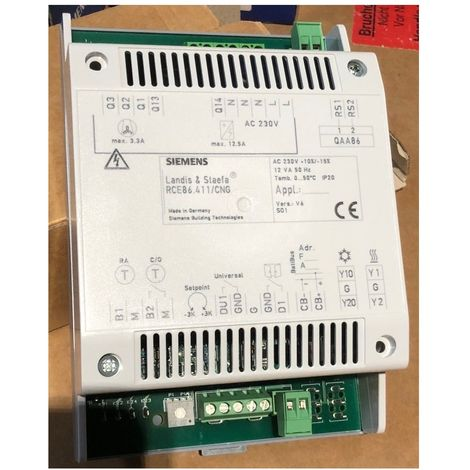 Siemens RCE86.411/CNG Room temperature controller