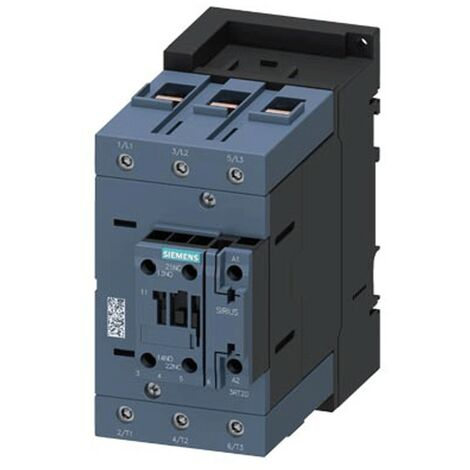 Siemens Sirius S2 30KW AC-3 contactor tripolar 400V 3RT20371AF00