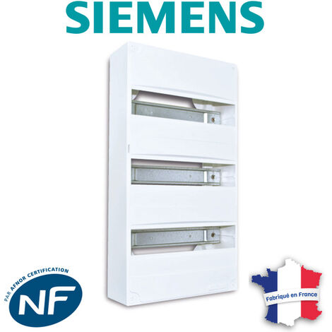 Siemens - Tableau électrique nu à équiper 3 rangées
