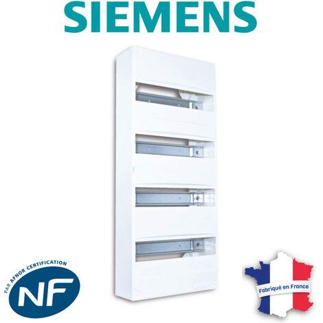 SIEMENS - Tableau électrique nu à équiper 4 rangées