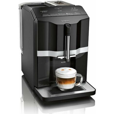 Siemens TI351509DE - Machine à café filtre - 1,4 L - Café en grains - Broyeur intégré - 1300 W - Noir (TI351509DE)