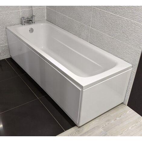 Siena Bathrooms - Siena 1800 x 700 Reinforced Single End Bath - White
