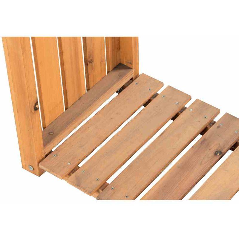 SIENA GARDEN Kaminholzständer Holzunterstand 1200x400 x1200mm Kiefer Regal *NEU*
