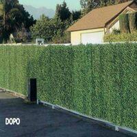 Siepe artificiale Arella Green Screen per esterno 3 x 1 m fascette omaggio