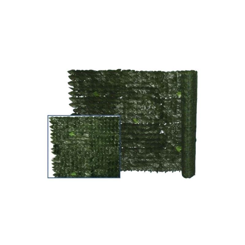 100X300 CM finta SIEPI EVERGREEN LAURO DIM oscurante plastica rotolo privacy