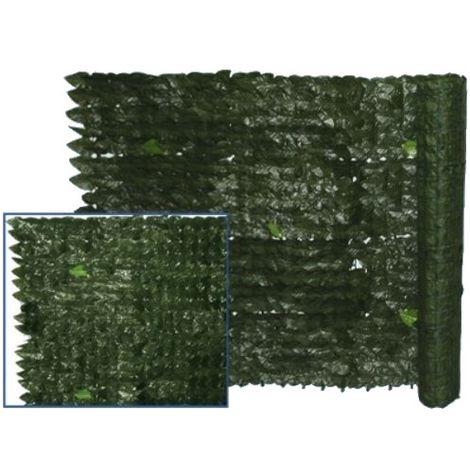 Siepe Sintetica 1X3 MT Foglie artificiali fogliame edere supporto recinzione