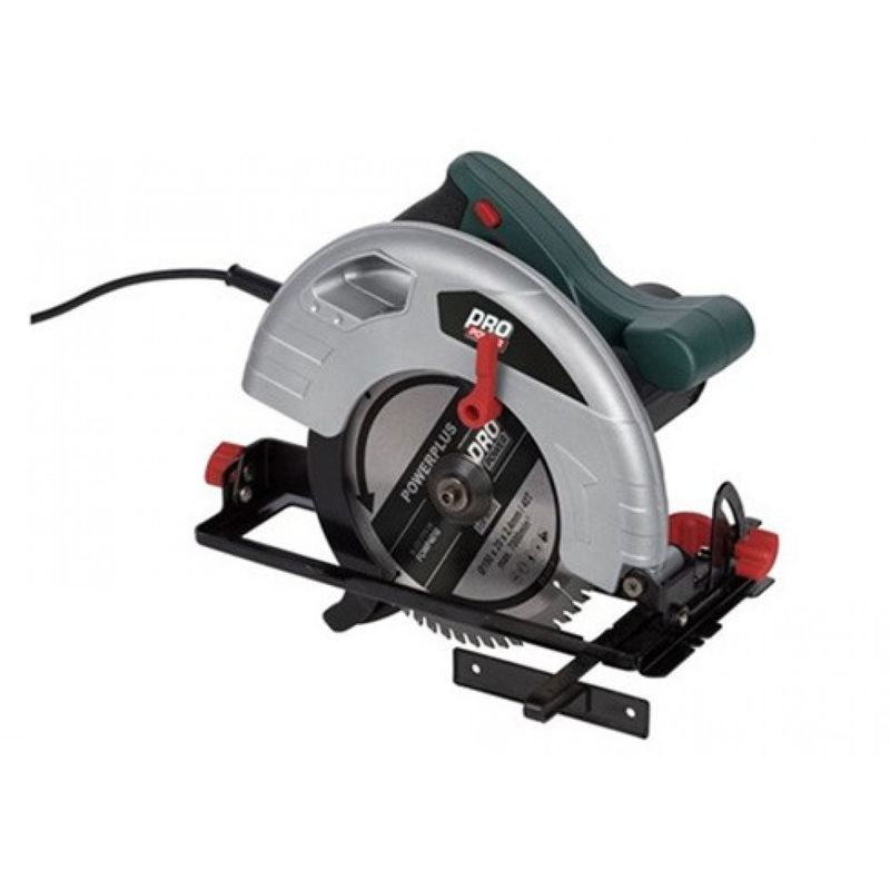 Powerplus - Sierra circular corte 65mm bric 1200w corte 195mm nivel