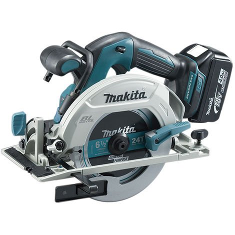 Sierra circular 165mm 18V Litio 4,0Ah. BL Makpac - MAKITA