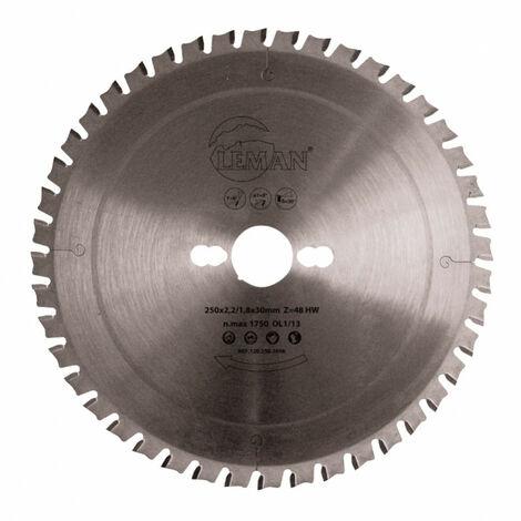 Sierra circular corte metal 160x20x30z - LEMAN - Ref:1201602030